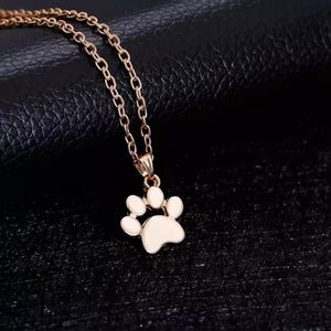 🌸4/$25🌸 Gold Paw Necklace